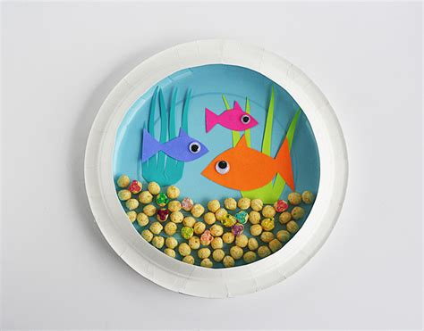 Paper Plate Craft Work - 16 easy and diy paper plate crafts shelterness