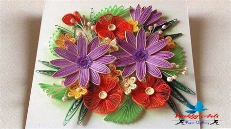flower design youtube paper quilling how to make beautiful flower designs