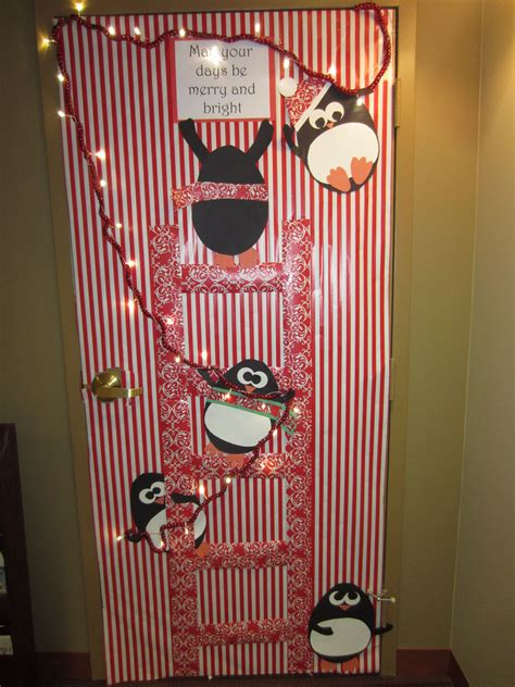 christmas holiday door decoration   days