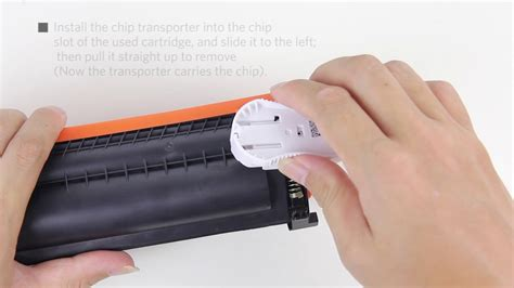 Toner Hp 17a how replace the hp 17a cf217a toner cartridge chip