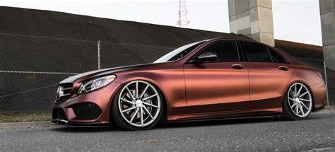 Auto Folierung Mercedes C Klasse by Mercedes Benz C Klasse Gelungenes Stance Tuning Tief