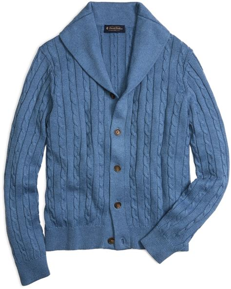 mens cable knit shawl collar cardigan brothers shawl collar cable knit cardigan where