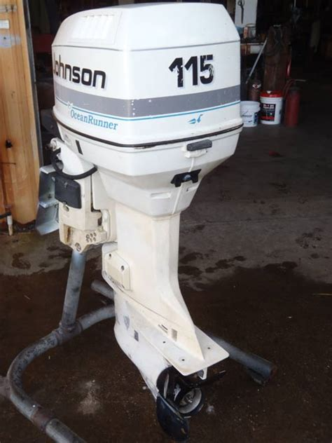 johnson 115 hp outboard motor manual 115 johnson outboard manual