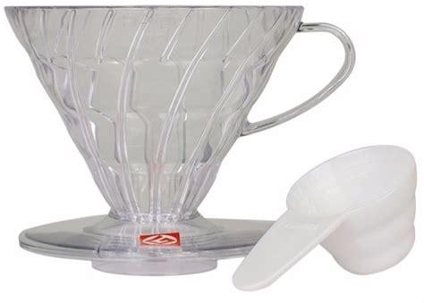 Hario V60 Plastic Dripper Size 02 White Hario V60 Dripper Size 02 Plastic Crema