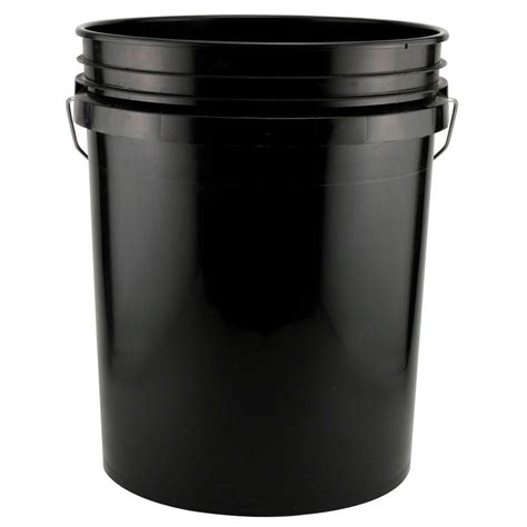 leaktite 5 gal black pack of 3 209332 the home