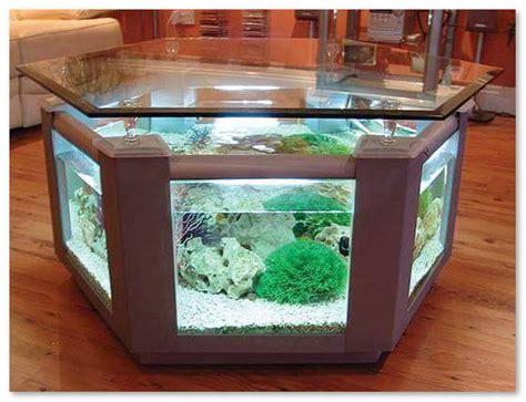 Meja Tamu Aquarium desain unik aquarium sebagai meja tamu desain rumah unik
