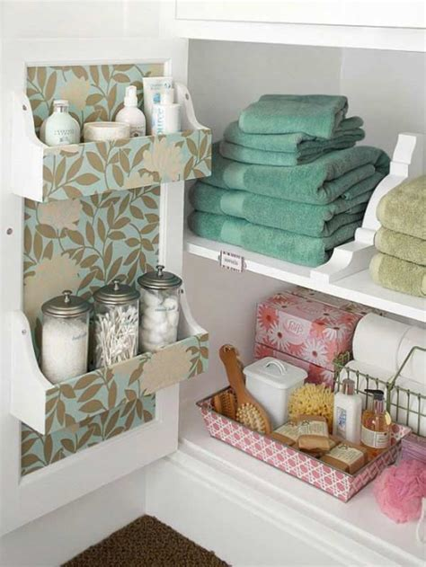 Diy Small Bathroom Storage Ideas 30 Brilliant Diy Bathroom Storage Ideas Amazing Diy Interior Home Design