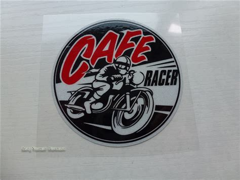 motocross helmet decals retro cafe racer stickers motocross sticker
