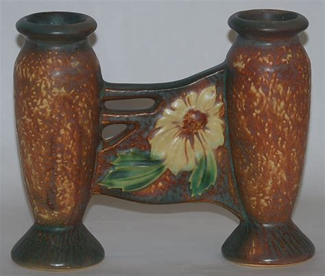 Bud Vases For Sale by Roseville Pottery Dahlrose Bud Vase For Sale Antiques Classifieds