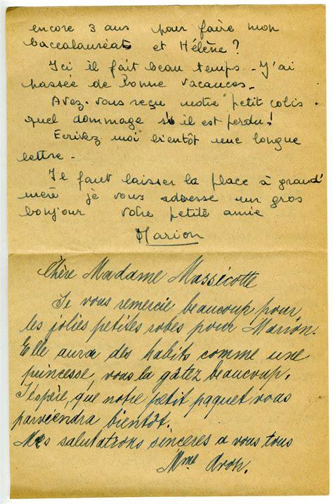 Lettre De Remerciement Grand Mere Parrainage D Orphelins De La Deuxi 232 Me Guerre Mondiale Instantan 233 S Banq