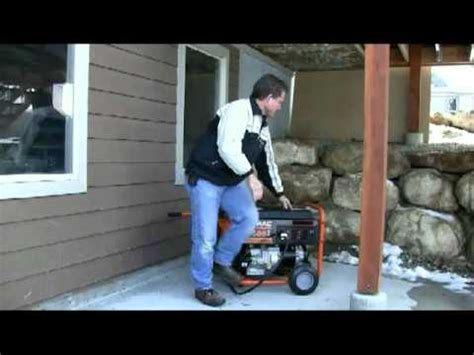 the best way to connect you portable generator to your