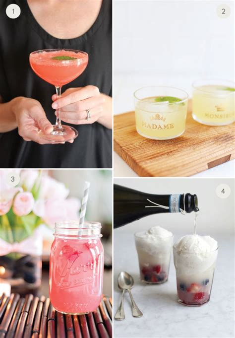 8 summer wedding signature cocktails julep