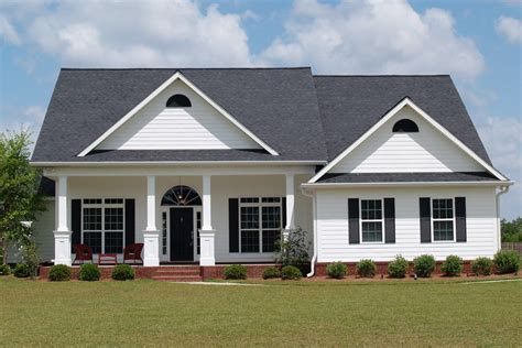 houses with black roofs color for white houses with metal roof