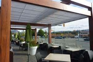 Retractable Canopy Cantilevered Retractable Canopies Ora Restaurant