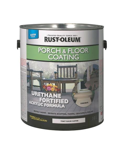 rust oleum porch floor coating satin tint base 281094 in canada canadadiscounthardware