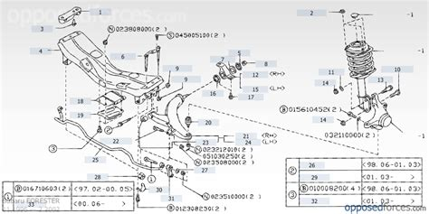 subaru forester rear suspension diagram diagram of front suspension 2003 subaru forester subaru