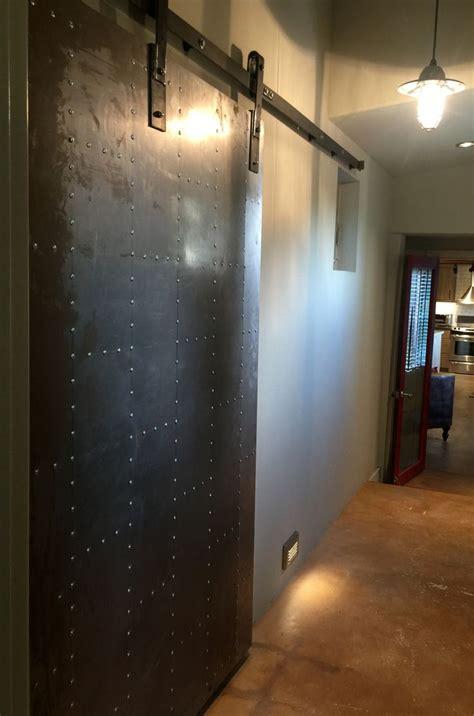 Industrial Interior Doors Metal Barn Door Industrial Style Creative Spaces Interior Design Inc Debby Adelman Barn