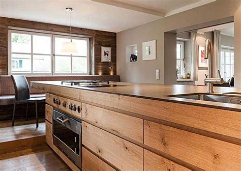 naturholz arbeitsplatte landhaus tegernsee kitchen i k 252 che