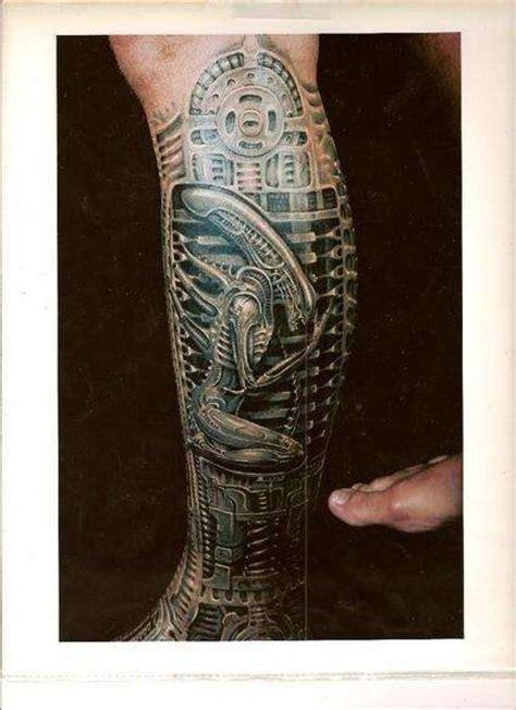 tattoo 3d biomechanical tattoo art biomechanical tattoos alien infestation