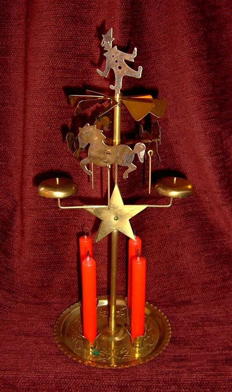 scandinavian party chimes candle powered chimes