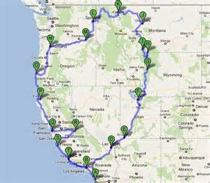 map of highway 101 california route 101
