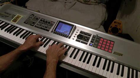 Keyboard Roland X8 roland fantom x8 sler