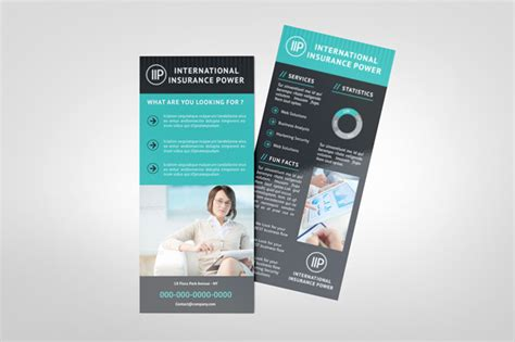 Downloadable Rack Card Templates by 11 Rack Card Template Psd Images Sle Rack Card