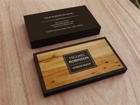 free wood grain business card template stylish border wood grain texture business card zazzle