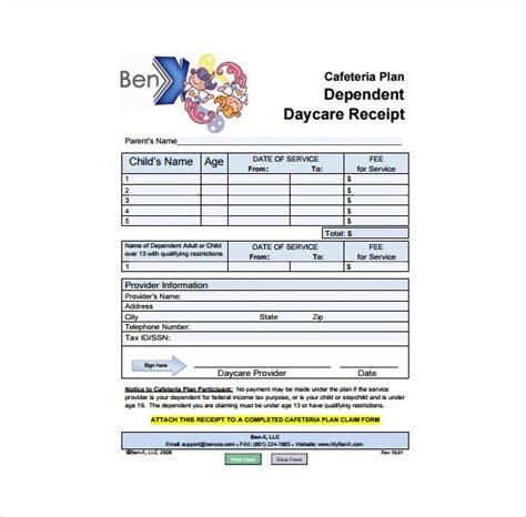 24 Daycare Receipt Templates Pdf Doc Free Premium Templates Daycare Receipt Template
