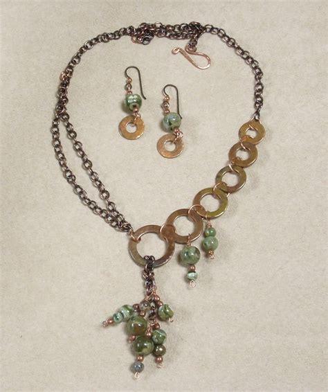 lisa rena jewlery asymmetry with copper washers jewelry making journal