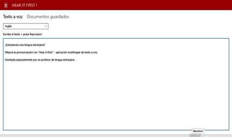App Que Resume Textos Hear It App Para Windows 10 Que Convierte Texto A Voz