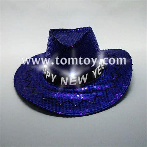 light up cowboy hat blue sequin light up led cowboy hat tomtoy