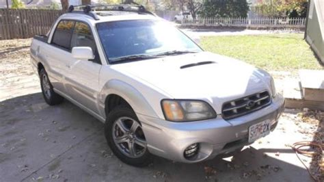 car owners manuals for sale 2005 subaru baja navigation system sell used 2005 subaru baja 2 5 dohc turbo awd manual two tone 117k mi rare in