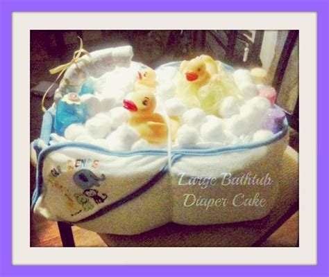 diaper bathtub instructions here is another great pic of my large bathtub diaper cake