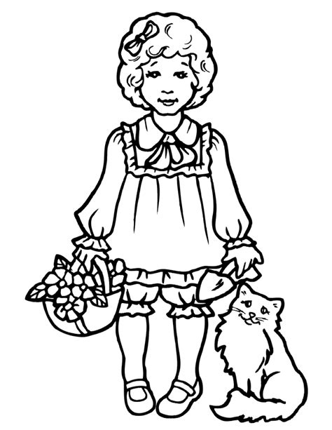 Girly Coloring Pages by Girly Coloring Pages Coloring Home