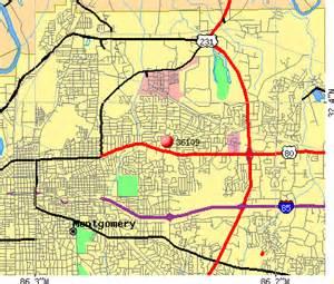 Montgomery Zip Code Map by 36109 Zip Code Montgomery Alabama Profile Homes