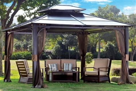 Gazebos At Hardtop Gazebo At Big Lots Amazing Gazebo For Small