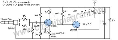 3 transistor fm transmitter schematic fm transmitter help