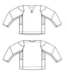 hockey jersey template blank hockey jersey templates one pen one page