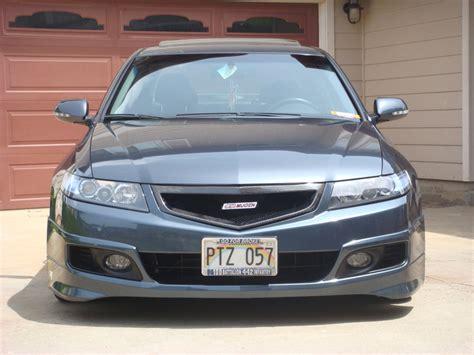 2006 acura tsx rear bumper honda access a spec lip kit front underspoiler 06 08