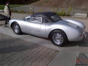 1955 Porsche Spyder 1955 Porsche Beck 550 Spyder Black Plate 1835cc Many
