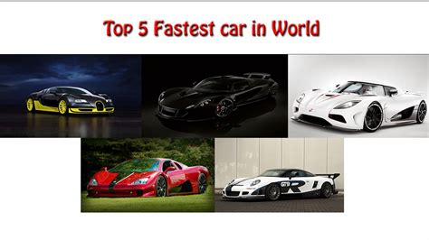 best high speed top high speed cars comparison in the world techgangs