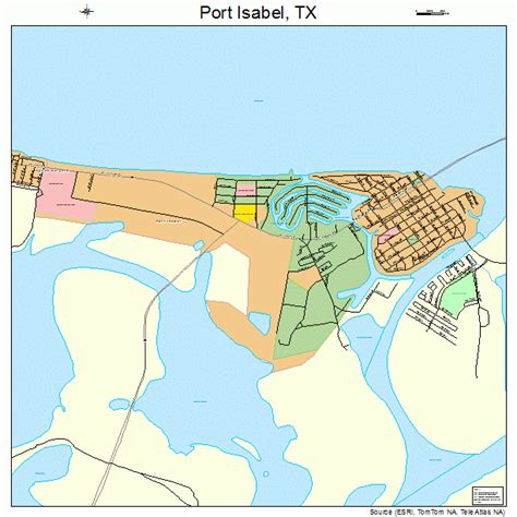 port texas map port texas map 4858892