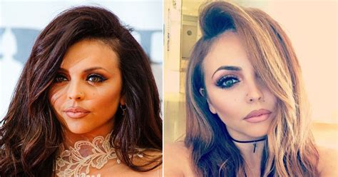 how to do your hair like jesse palmer little mix star jesy nelson new hair ditches trademark
