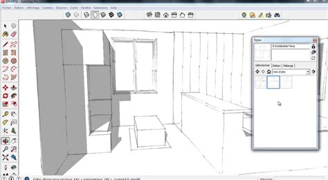 layout sketchup gratuit tuto ma 238 trisez style builder dans sketchup avec sketchup