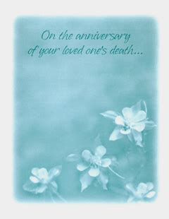 words of comfort on anniversary of loved ones death hope and healing bereavement and sympathy cards