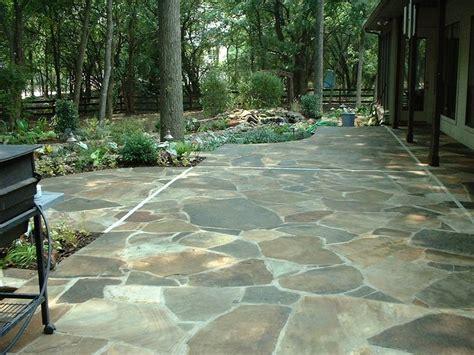 stone slate for backyard 25 best ideas about outdoor flooring on pinterest