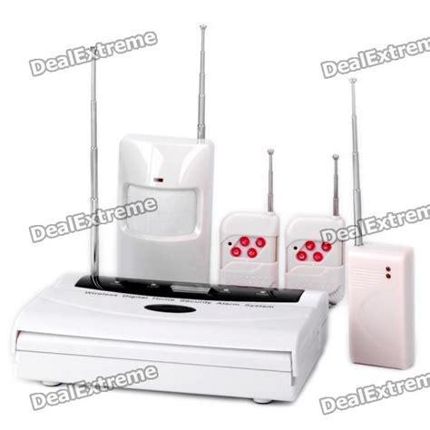 cheap wireless digital home security alarm system set 315