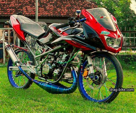 foto gambar modifikasi motor rr drag bike racing gambartop