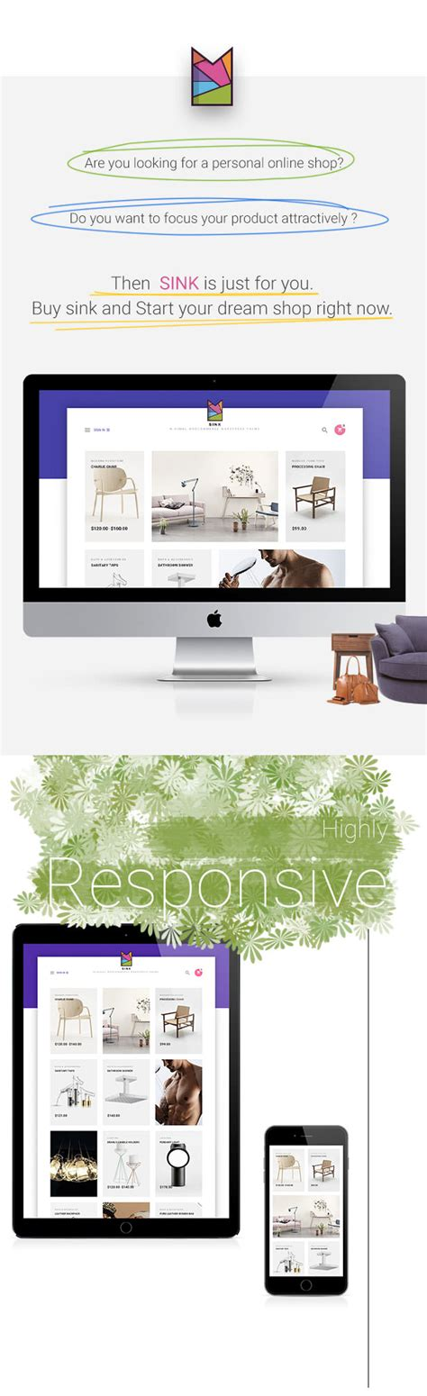 themeforest woocommerce theme free download download themeforest sink minimal woocommerce wordpress